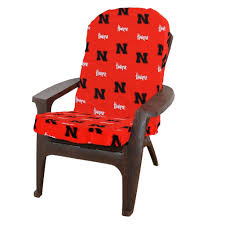 Sunbrella Rocking Chair Cushions Exterior Interesting Wood Adirondack Chair Cushions Decor With