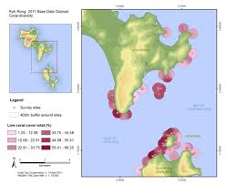 Map Of Coral Reefs We Work Hand In Hand With The Marine Life Conservation