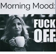 Fuck Off Memes - morning mood fuck off meme on esmemes com