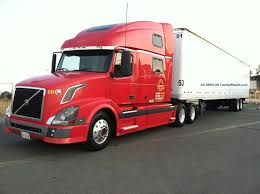 volvo semi car picker red volvo trucks