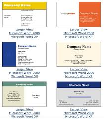 microsoft business card templates free microsoft business card