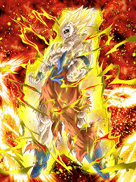 rage super saiyan goku dragon ball dokkan battle