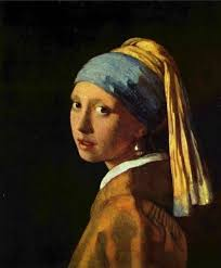 painting the girl with the pearl earring girl with a pearl earring by tracy chevalier