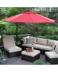 Patio Umbrella Cantilever Sale Treasure Garden 10 Ft Obravia Cantilever Octagon