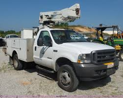 2002 ford f550 bucket truck item l2872 sold august 16 m