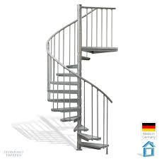 steinhaus treppen stahl wendeltreppe am balkon 160 cm durchmesser bis 282 cm höhe
