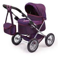 bayer design puppenwagen bayer design puppenwagen trendy lila aubergine baby markt at