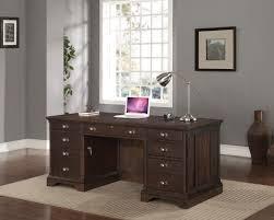 Executive Desk Walnut Creek Executive Desk Espresso Levin Furniture