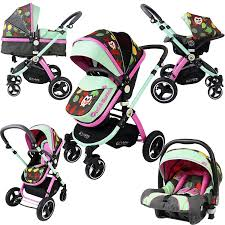 Wyoming best travel system images Isafe system owl button trio travel system pram luxury jpg
