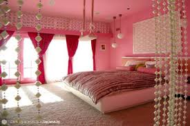 Teen Girls Bedroom Curtains Fascinating Girls Bedroom Decorating Ideas With Colorful Striped