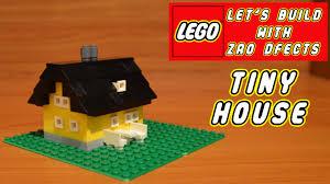 Tiny House Lab by Lego Let U0027s Build Tiny House Youtube