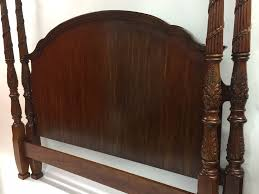 drexel heritage king size mahogany four poster bed