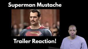 Superman Meme - batman v superman the mustache edition trailer reaction youtube