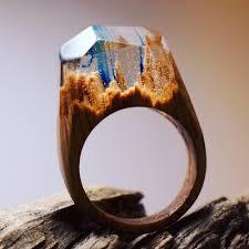 wooden finger rings images Secret wood magical wooden rings design jpg