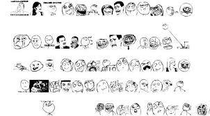Meme Font Style - memetica font by rodolfo santos fonts dingbats meme memefaces
