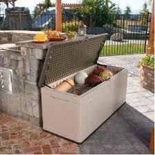 garden and outdoor storage storage seat deck box