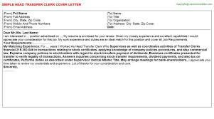 awesome procurement clerk cover letter images podhelp info