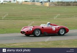 maserati 450s maserati 450s sports car at goodwood revival motor racing meeting