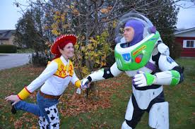 jessie and woody halloween costumes home made buzz u0026 jessie imgur