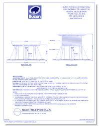 Buzon Pedestal Buzon Pedestals International Specialties Cad Drawings