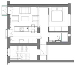 contemporary studio apartment hdb floor plan loft in camden by