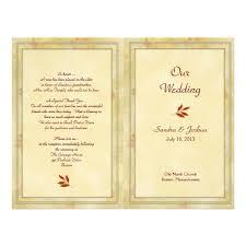 Thank Yous On Wedding Programs Christian Wedding Program Thank You Message U2014 Criolla Brithday