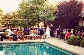 Small Backyard Wedding Ideas Triyae Com U003d Backyard Wedding Ideas With Pool Various Design