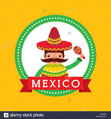 cartoon sombrero mexican man poncho hat sombrero stock photos u0026 mexican man poncho