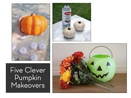 clever pumpkin five clever faux pumpkin makeovers curbly