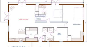 Small One Level House Plans Open Plan Bungalow Floor Plan One Level Floor Plans 3 Bed Examples