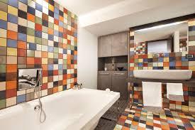 Tile Designs For Bathrooms 10 Ways To Add Color Into Your Bathroom Design Freshome Com