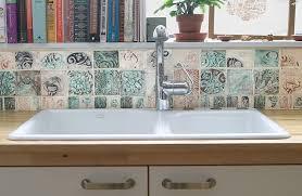 Ceramic Tile For Backsplash by Diane Sullivan Ceramics