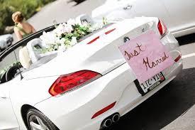 wedding car decorations diy wedding car decor wedding planner coordinator chancey charm
