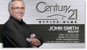 Century 21 Business Cards Realtor Business Cards Accept Print Printing