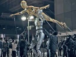 youtube lexus amazing in motion ad of the day giant 3d puppet lexus ad business insider