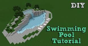 minecraft tutorial building a swimming pool 1 minecraft