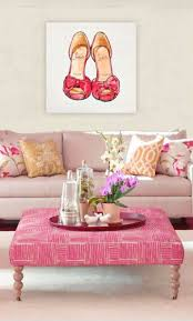 Best Pink Paint And Interiors Images On Pinterest Wall - Pink living room design