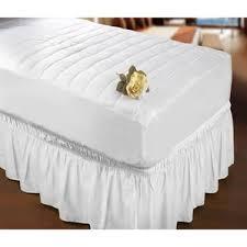 Burlap Bed Skirt Bed Skirts U0026 Dust Ruffles