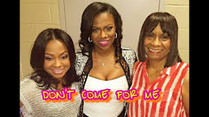 back of phaedra s hair phaedra claps back at mama joyce accusations kandi checks