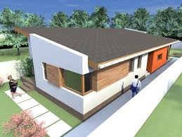 One Story Ultra Modern House Plans - 1 story home designs