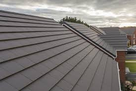 Flat Tile Roof Modern Interlocking Roof Tile With A Flat Profile