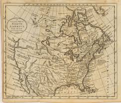Indian Tribes North America Map by Antique Maps Of 18th Century North America
