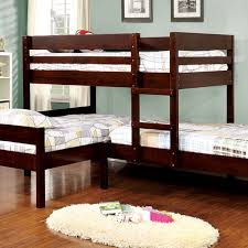 Bunk Bed Pictures Corner Bunk Bed In Espresso Bunk Bed For 3