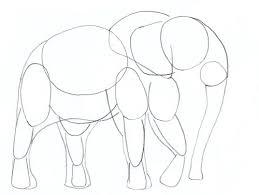 how to draw an elephant yedraw