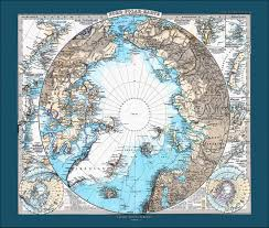 North Pole Map North Pole And South Pole Map Set World Map Map Of The World