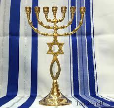 menorah 7 branch brass messianic temple menorah 7 branch grafted jerusalem seal