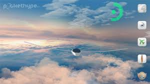 gliders in the sky 3d live wallpaper youtube