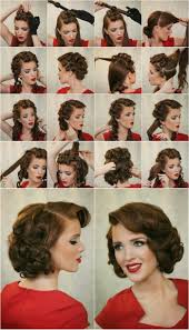 Coole Frisuren Zum Selber Machen Anleitung by 1001 Ideen Und Inspirationen Für Atemberaubende Vintage Frisuren