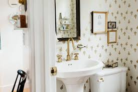Victorian Powder Room 1898 Victorian Home Masters The Accent Wallpaper Game Curbed