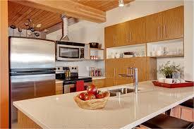 white quartz countertops and oak cabinets on pinterest